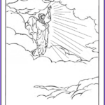 Heaven Coloring Page Awesome Photos 45 Bible Story Coloring Pages Creation Jesus & Mary