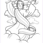 Heaven Coloring Page Best Of Collection Beautiful Jesus Ascends To Heaven Coloring Page