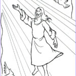 Heaven Coloring Page Best Of Photos Jesus Ascending Into Heaven Acts 1