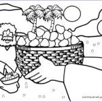 Heaven Coloring Page New Stock Manna From Heaven Coloring Page Crafting The Word God