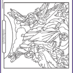 Heaven Coloring Page Unique Photography Jesus Ascension Coloring Page Ascending With Angels