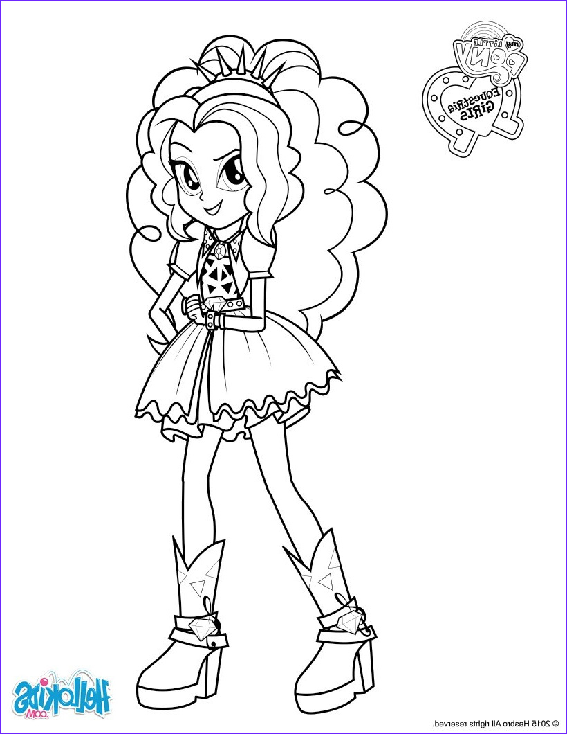 Hello Kids Coloring Pages Elegant Photos Adagio Dazzle Coloring Pages Hellokids