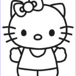 Hello Kittty Coloring Awesome Gallery Free Printable Hello Kitty Coloring Pages For Pages
