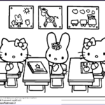 Hello Kittty Coloring Elegant Photos Hello Kitty Coloring Pages Pdf Coloring Home