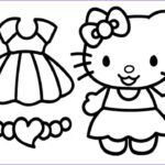 Hello Kittty Coloring Luxury Images Hello Kitty Coloring Pages