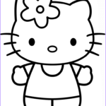 Hello Kittty Coloring New Images Hello Kitty Coloring Page