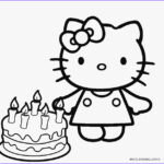 Hello Kitty Birthday Coloring Pages Awesome Image Free Printable Hello Kitty Coloring Pages For Pages