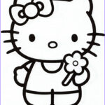 Hello Kitty Birthday Coloring Pages Beautiful Collection Hello Kitty Coloring Pages Archives