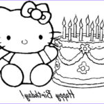 Hello Kitty Birthday Coloring Pages Best Of Gallery Hello Kitty Birthday Coloring Pages At Getcolorings