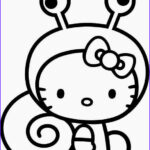 Hello Kitty Birthday Coloring Pages Inspirational Collection Hello Kitty Coloring Pages