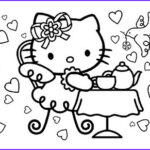 Hello Kitty Birthday Coloring Pages Unique Photos Alphabet Coloring Sheets July 2013
