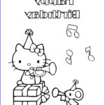 Hello Kitty Birthday Coloring Pages Unique Photos Top 30 Hello Kitty Coloring Pages To Print
