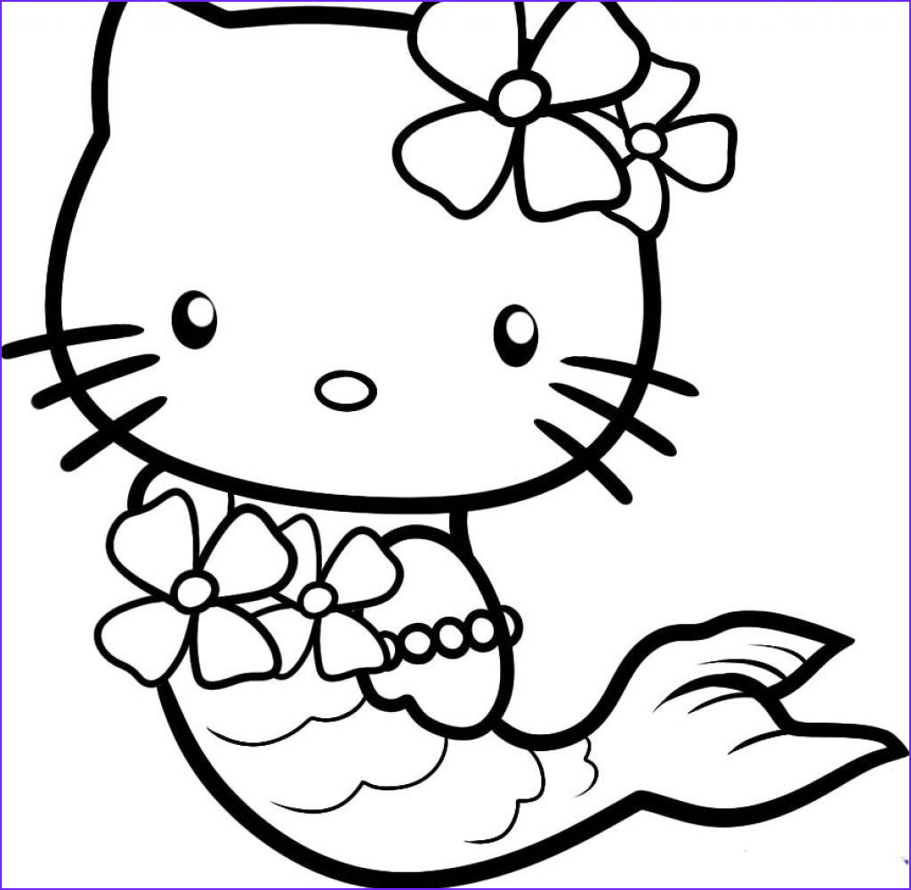 Hello Kitty Coloring Book Luxury Photos Hello Kitty Pictures Mermaid