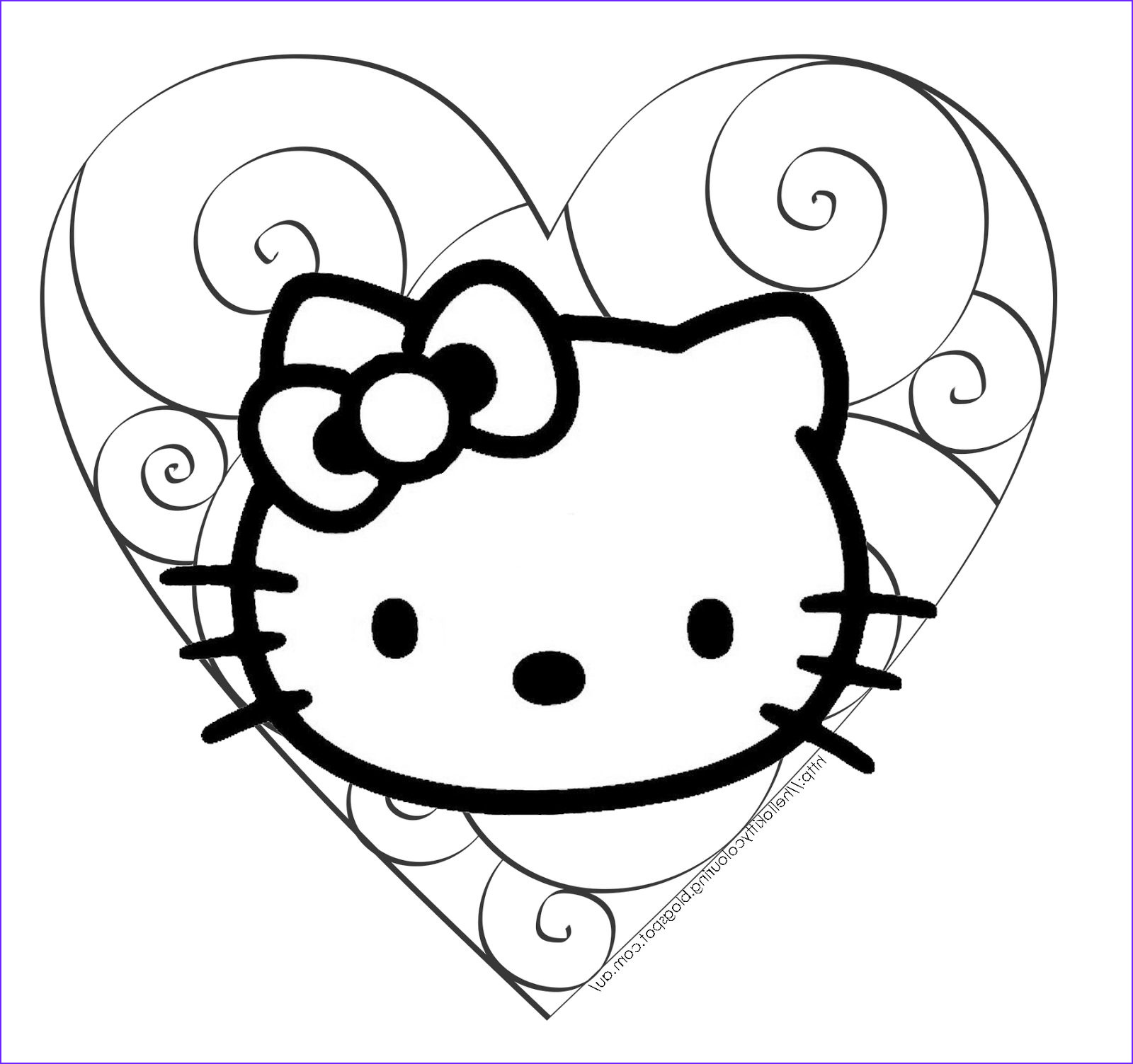 Hello Kitty Coloring Book Unique Collection Hello Kitty Coloring Pages