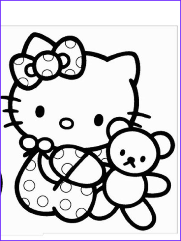 Hello Kitty Coloring Books Inspirational Stock Baby Hello Kitty Coloring Pages