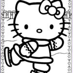 Hello Kitty Coloring Cool Images Hello Kitty Christmas Coloring Pages 1