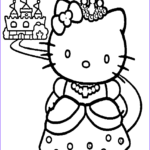 Hello Kitty Coloring Luxury Photos Princess Hello Kitty Coloring Pages