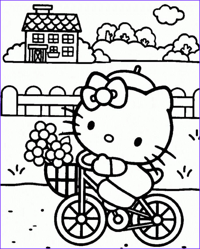 Hello Kitty Coloring Pages Pdf Beautiful Image 17 Best Images About Bday Hello Kitty On Pinterest