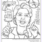 Hillary Clinton Coloring Page Best Of Images Coloring Books