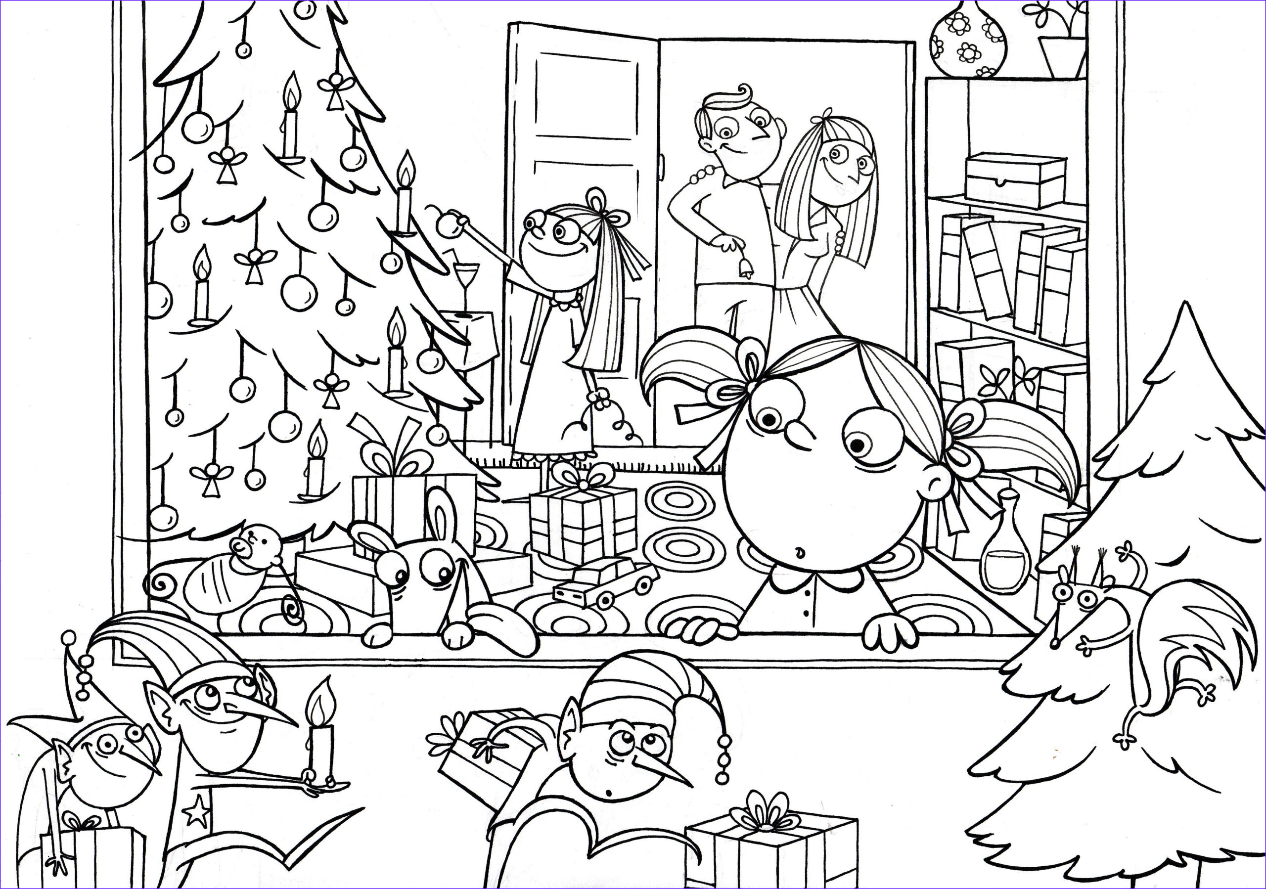 Holiday Coloring Book Awesome Photos Free Coloring Pages by Monika Vas