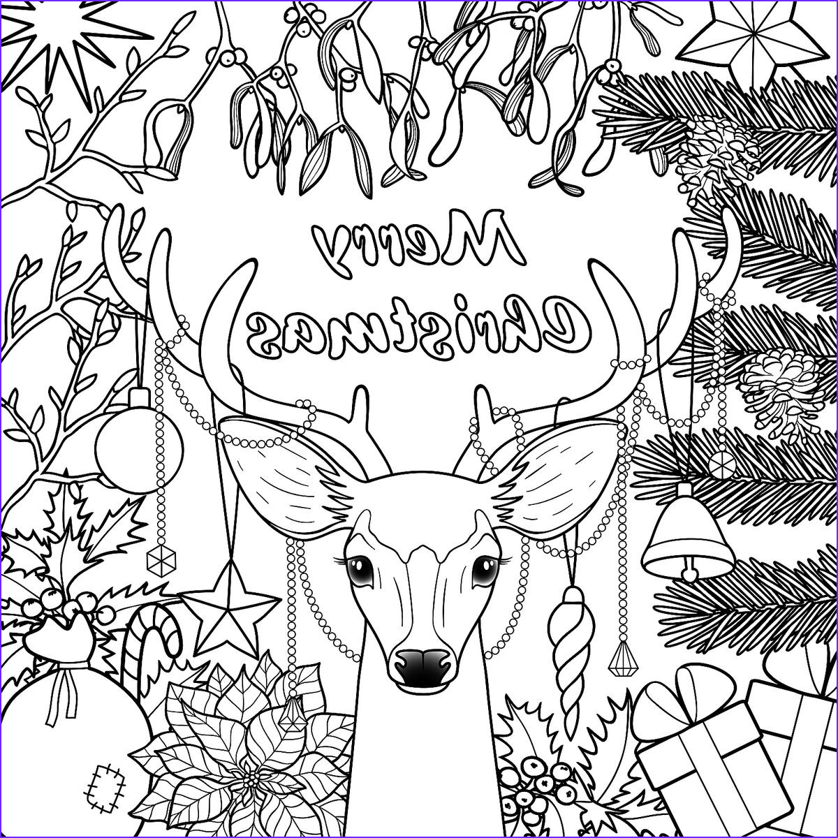 Holiday Coloring Book Awesome Stock Christmas Coloring Pages 16 Printable Coloring Pages for