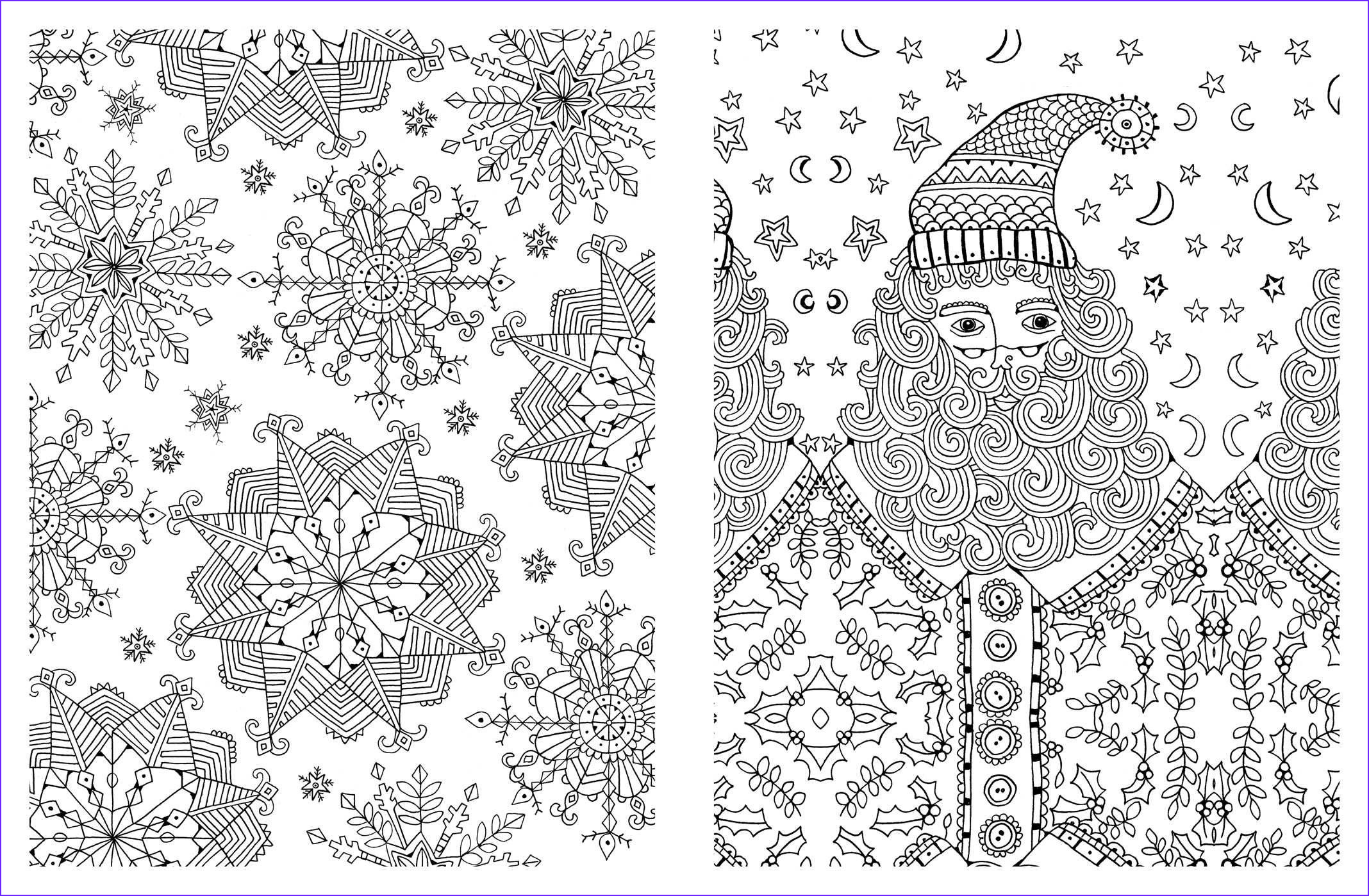 Holiday Coloring Book Beautiful Photos Christmas Adult Coloring Pages Coloring Home