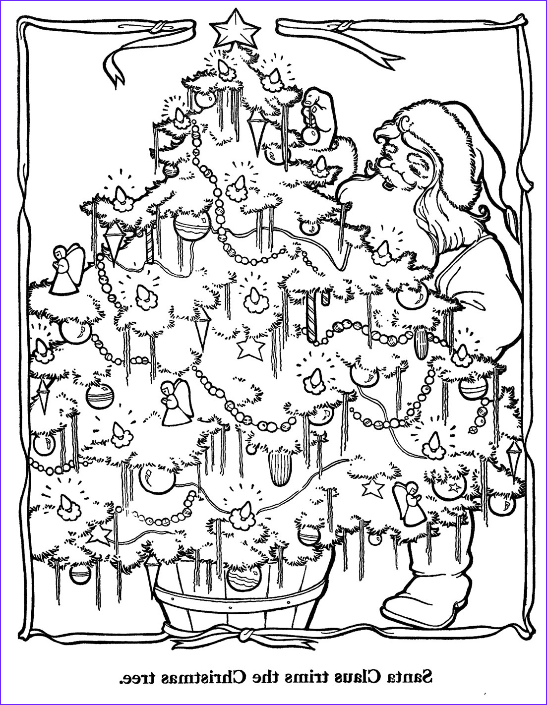 Holiday Coloring Book Elegant Photos Countdown to Christmas – 1 Day – Q is for Quilter