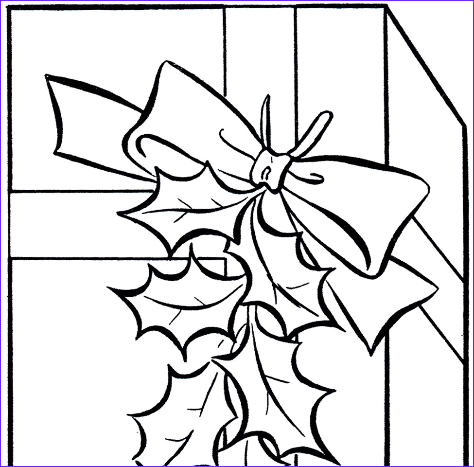 Holiday Coloring Book New Collection Holiday Gift Clip Art Image Coloring Page the