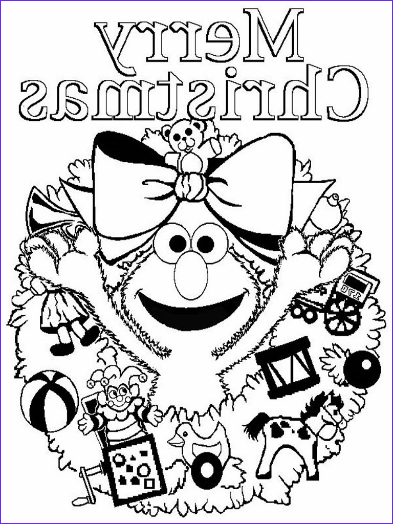 Holiday Coloring Book Unique Photos Elmo Christmas Printable Coloring Pages Free Printable