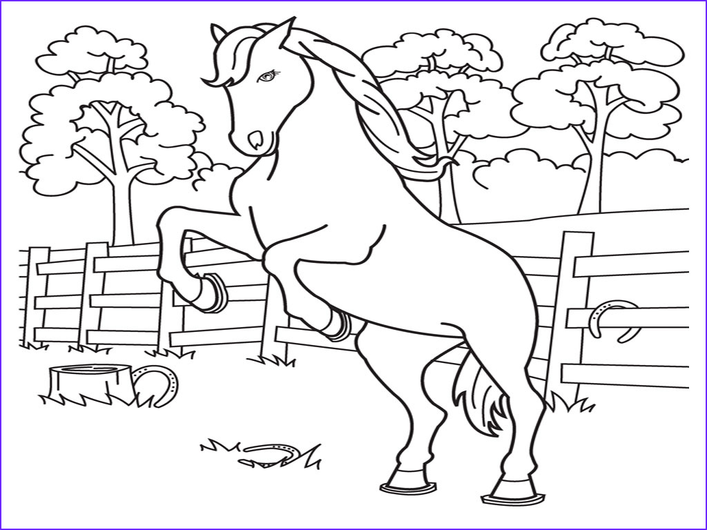 Horse Coloring Book Awesome Gallery Coloring Pages Horse Coloring Pages Free and Printable