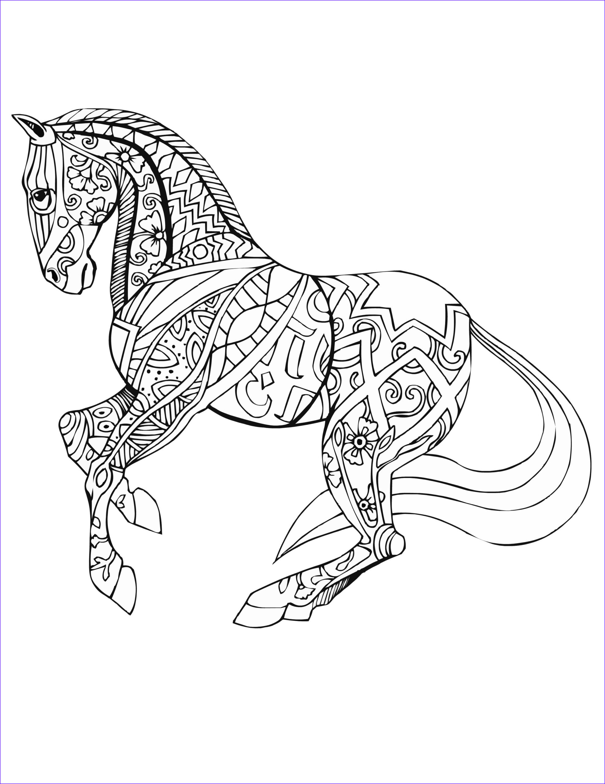 Horse Coloring Book for Adults Best Of Gallery Horse Free Selah Works … Coloring Pgs