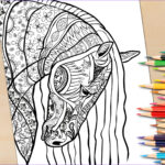 Horse Coloring Book For Adults Luxury Image Adult Coloring Page From Coloring Book For Adults Horse
