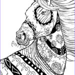 Horse Coloring Book For Adults New Collection Here S A Sneak Peak Into Some Wip For New Horses Ing In