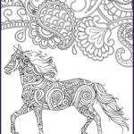 Horse Coloring Book For Adults Unique Photos Horse Coloring Page For Adults Horse Adult Coloring Page