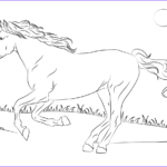 Horse Coloring Book Unique Photos Beautiful Mustang Horse Coloring Page