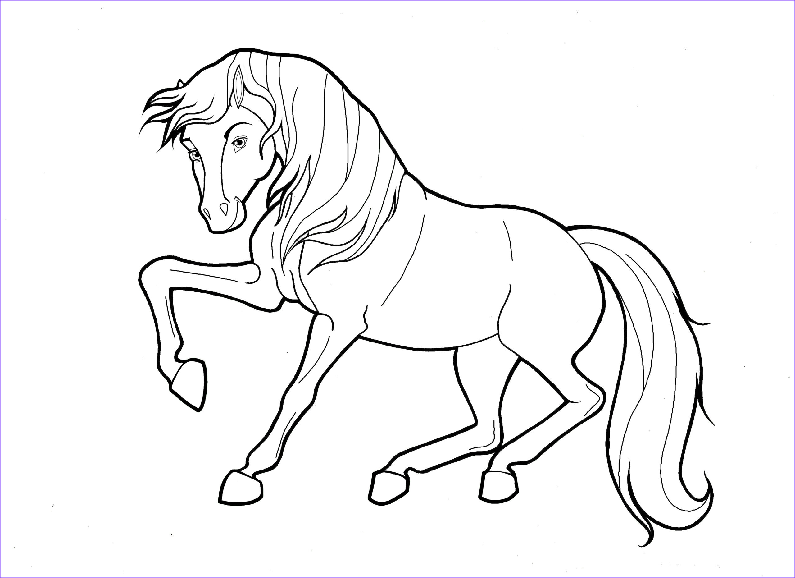 Horse Coloring Pages Best Of Image Coloring Pages Horses Printable