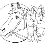Horse Coloring Pages Printable Best Of Stock Detailed Christmas Coloring Pages