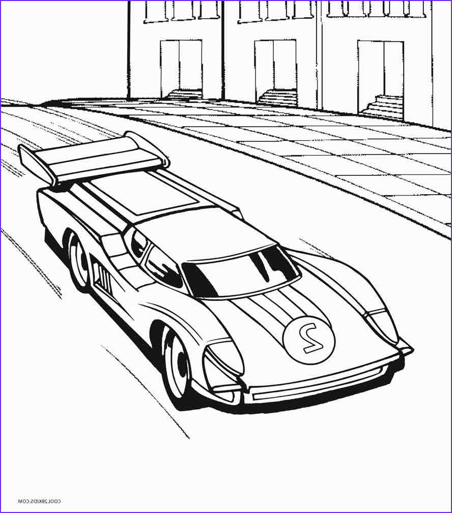 Hot Wheels Coloring Awesome Gallery Printable Hot Wheels Coloring Pages for Kids