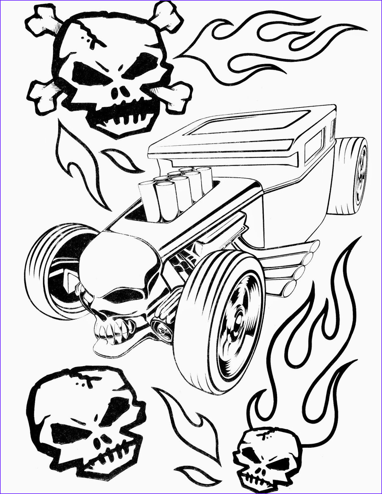 Hot Wheels Coloring Beautiful Gallery Hot Wheels Coloring Pages Set 4 A Huge Collection Of