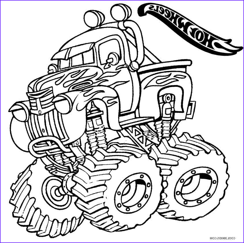 Hot Wheels Coloring Beautiful Gallery Printable Hot Wheels Coloring Pages for Kids