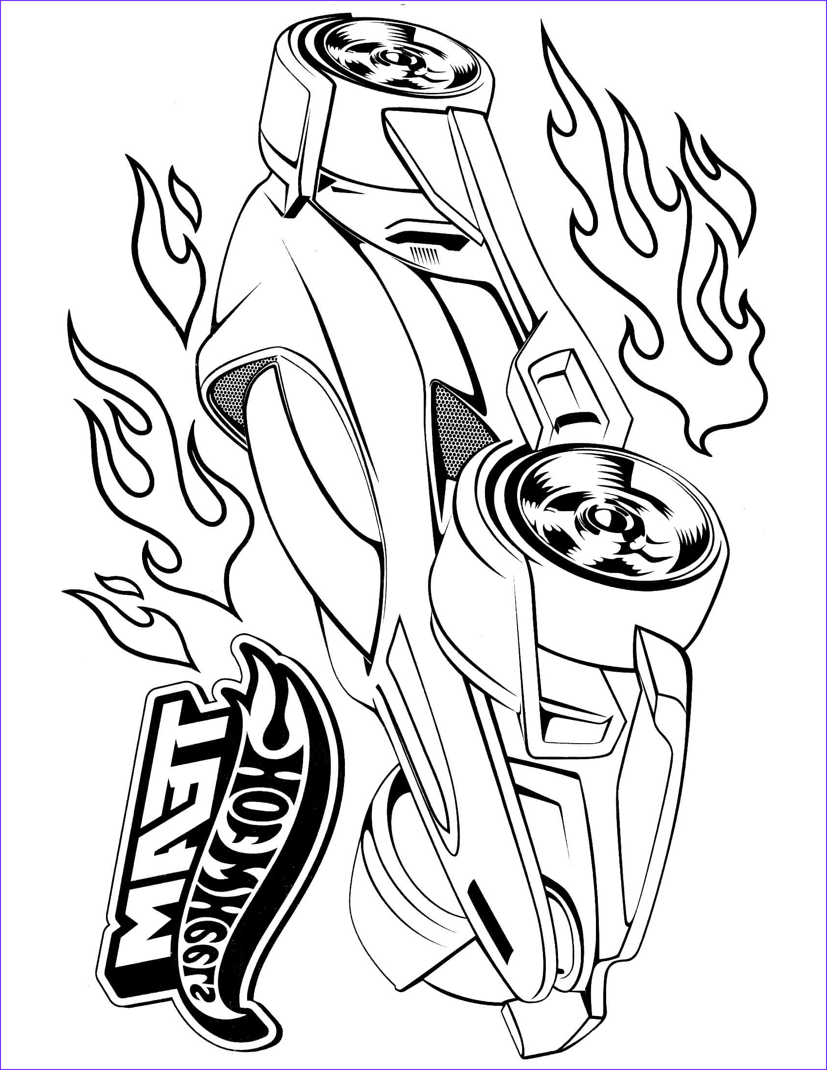 Hot Wheels Coloring Book Best Of Collection Hot Wheels 29 – Coloringcolor