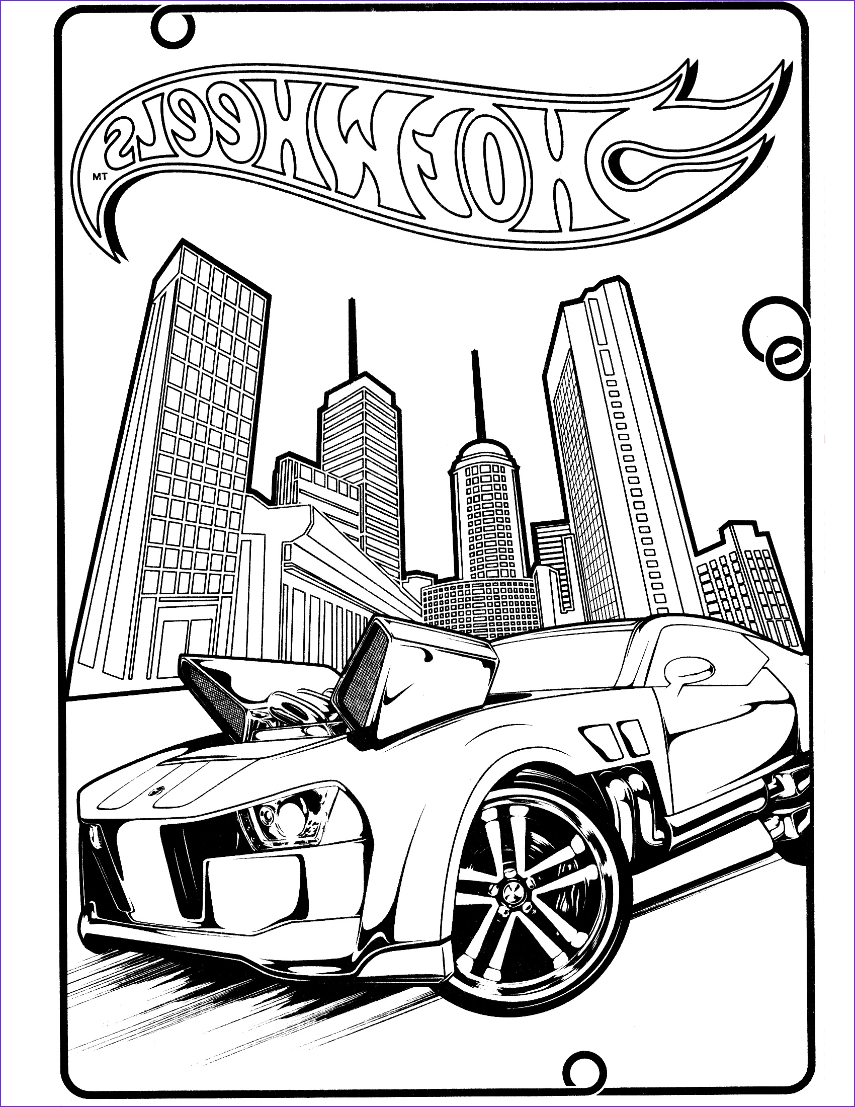 Hot Wheels Coloring Book Cool Photos Free Printable Hot Wheels Coloring Pages for Kids