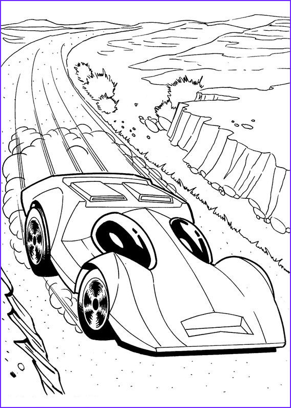 Hot Wheels Coloring Book Elegant Collection Hot Wheels Coloring Pages