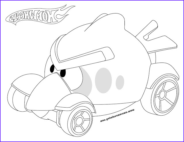 Hot Wheels Coloring Book Unique Gallery Hot Wheels Red Bird Coloring Page