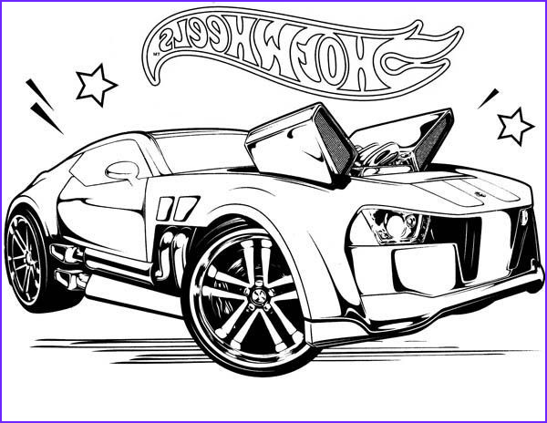 Hot Wheels Coloring Cool Stock Free Hot Wheels Coloring Pages to Print Img