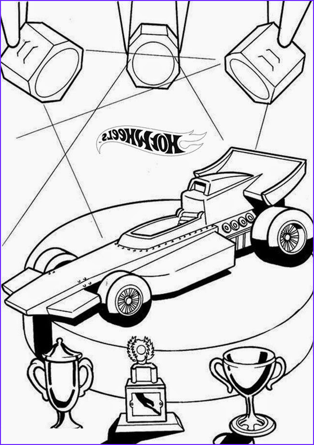 hot wheels coloring pages set 1
