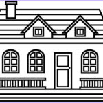 House Coloring Book Awesome Collection How To Draw House For Kids And House Coloring Pages For