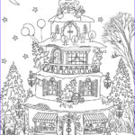 House Coloring Book Awesome Images Christmas House Coloring Page