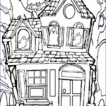 House Coloring Book Beautiful Collection Printable Haunted House Coloring Pages For Kids