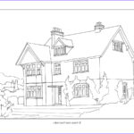 House Coloring Book Beautiful Photos Arts & Crafts Houses Coloring Book